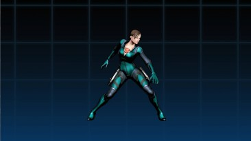 "Ultimate Marvel vs. Capcom 3 ""Джилл Изумрудно- зеленый"""