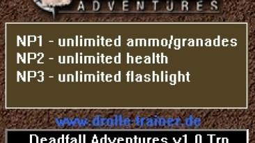 Deadfall Adventures: Трейнер/Trainer (+3) [1.0] {dR.oLLe}