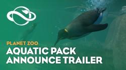 Анонсировано DLC Aquatic Pack для Planet Zoo