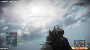 Battlefield 4 Random Moments #87 (Painful KO's, Flying Hovercraft!)