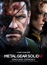 Обложка игры Metal Gear Solid 5: Ground Zeroes