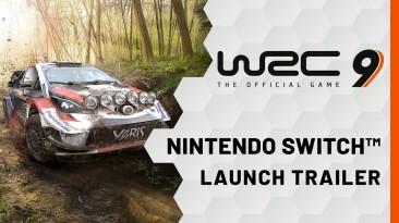 Трейлер WRC 9 отмечает выход игры на Nintendo Switch