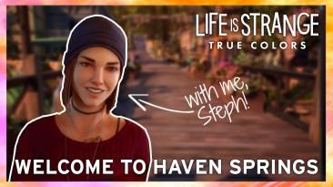 Добро пожаловать в Хейвен-Спрингс - место действия Life Is Strange: True Colors