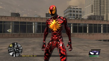 "Spider-Man: Web of Shadows ""Скин Ultimate Carnage"""