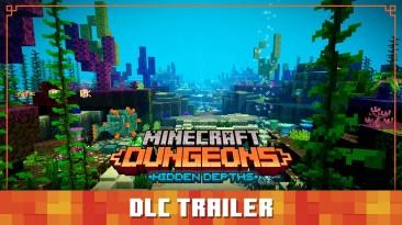 """Вышло морское DLC """"Скрытые глубины"""" для Minecraft Dungeons"""