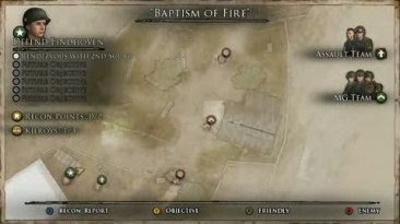 """Brothers in Arms: HH """"Baptism of Fire Walkthrough"""""""