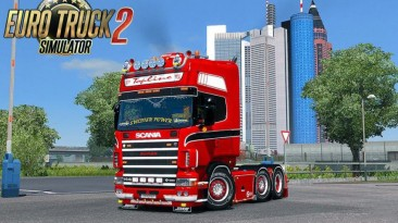 """Euro Truck Simulator 2 """"Качественные звуки для Scania R/Streamline и Scania 4 Series v1.0 (1.41.x)"""""""