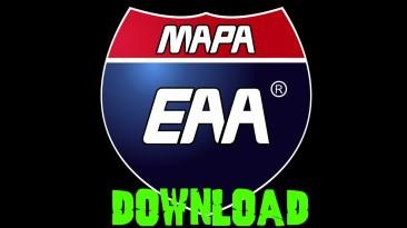 "Euro Truck Simulator ""Карта Бразилии - EAA Normal v6.1.0 (1.40.x)"""