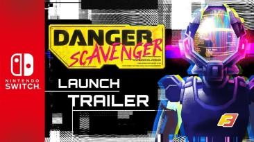 """Киберпанк-рогалик """"Danger Scavenger"""" в марте заглянет на Nintendo Switch"""