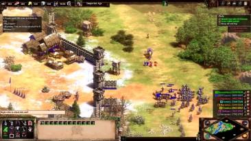 Игровой процесс обновленной версии Age of Empires II: Definitive Edition
