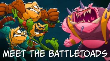 Battletoads получила трейлер от разработчиков