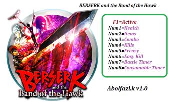 BERSERK and the Band of the Hawk: Трейнер/Trainer (+8) [1.0] {Abolfazl.k}