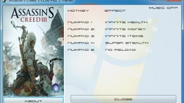 Assassin's Creed 3: Трейнер/Trainer (+5) [1.06] {GRIZZLY / PlayGround.ru}