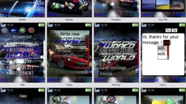 """Need for Speed: World """"Theme SE 240x320"""""""