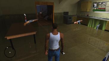 Grand Theft Auto: San Andreas: Сохранение/SaveGame (100 закрашиваемых граффити)