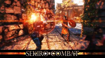 """Skyrim SE """"Sekiro Combat - Боевка из Sekiro: Shadows Die Twice"""""""