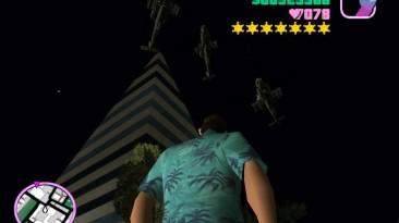 """Grand Theft Auto: Vice City """"Дополнительные три военные вертолёты Хантер горизонтального кружения"""""""
