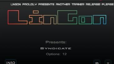Syndicate (2012): Трейнер/Trainer (+12) [1.0: ORIGIN] {LinGon}