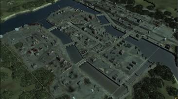 "Company of Heroes 2 ""8_p Seine River Docks (карта Реки Сена)"""