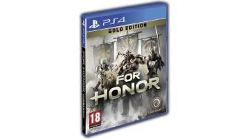 Диск с игрой For Honor: Gold Edition для PS4