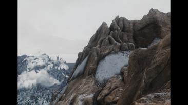 Доступны горные 8К-текстуры для The Elder Scrolls V: Skyrim