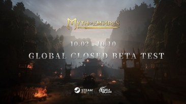 Закрытое бета-тестирование Myth of Empires для ПК начнётся 2 октября