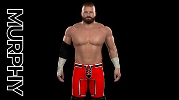 "WWE 2K19 ""Buddy Murphy Latest Red Attire + Render MOD"""