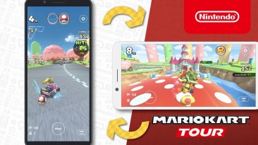 В мобильной Mario Kart появится горизонтальный режим