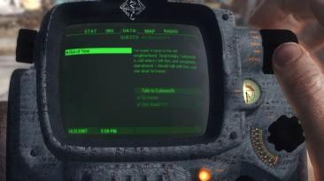 "Fallout 4 ""Новый вид Pipboy в стиле Скайрим"""