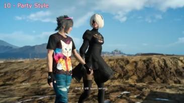Final Fantasy XV - ТОП 10 модов на оружие и броню