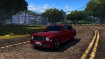 "Test Drive Unlimited 2 ""Bentley Mulsanne + new звук"""
