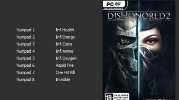 Dishonored 2: Трейнер/Trainer (+8) [v1.77.5.0] [PC   Repack от xatab] {Enjoy}