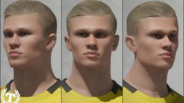 """FIFA 20 """"Erling Braut Hland face"""""""