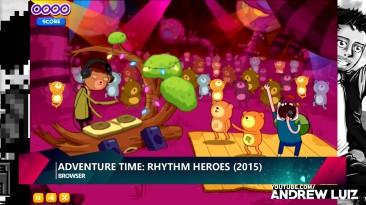 Эволюция игр Adventure Time (2012-2017)
