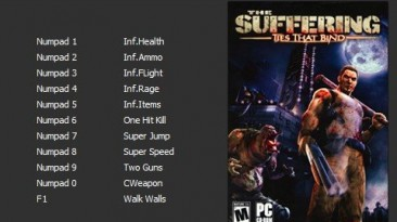 The Suffering - Ties That Bind/Кровные Узы: Трейнер/Trainer (+11) [v1.0] [PC | RePack от R.G. Catalyst] {Enjoy}