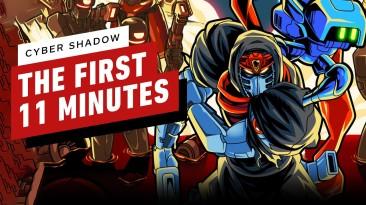 Первые 11 минут Cyber Shadow c Nintendo Switch