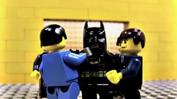 """Пародия на """"Batman: Arkham City"""" в стиле Lego"""