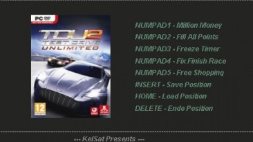 Test Drive Unlimited 2: Трейнер (+5) [1.082] {KelSat}