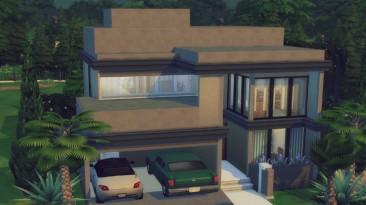 """The Sims 4 """"Красивый дом в японский стиле"""""""
