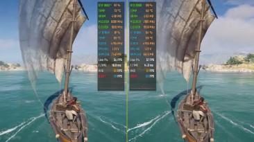 Assassin's Creed Odyssey - GTX 1660 Ti vs. RTX 2060