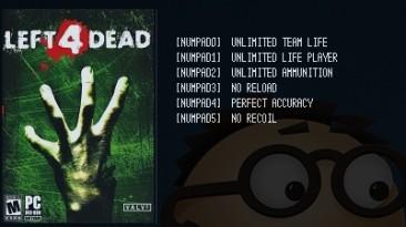 Left 4 Dead: Трейнер/Trainer (+6) [Latest Steam] {LIRW / GHL}