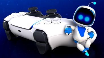 Разработчик Astro's Playroom дарит новым сотрудникам кастомизированный геймпад Dualsense