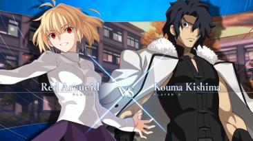 Новый геймплейный трейлер Melty Blood: Type Lumina, демонстрирующий бой Комы Киришимы против Красной Арквейд
