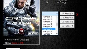 Crysis Warhead: Трейнер/Trainer (+4) [1.1.1.711] {MrAntiFun}