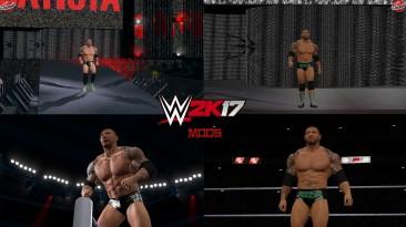 "WWE 2K17 ""Batista + 2 Наряда (Лицевая анимация) WWE 2K19 Порт Мод"""