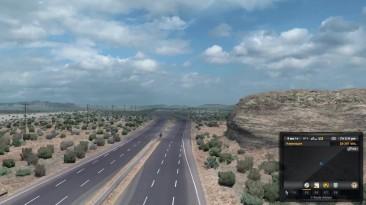 American Truck Simulator - Дороги штата Юта в Бета Патче 1.3658