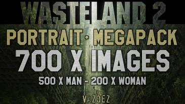 """Wasteland 2 """"Мега-пак иконок персонажей (mega custom portraits pack) by VASQUEZ"""""""