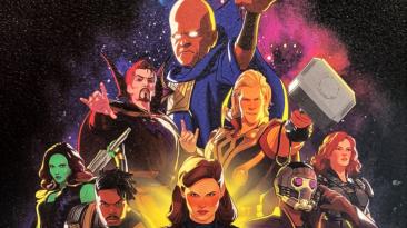 """Первый постер мультсериала """"Что, если...?"""" от Marvel Studios"""