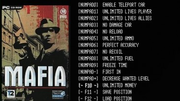 Mafia: The City of Lost Heaven: Трейнер/Trainer (+13) [v1.2: Steam Version] {LIRW / GHL}