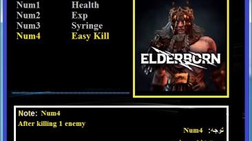 Elderborn Permadeath: ТрейнерTrainer (+4) [1.0] {Abolfazl.k}